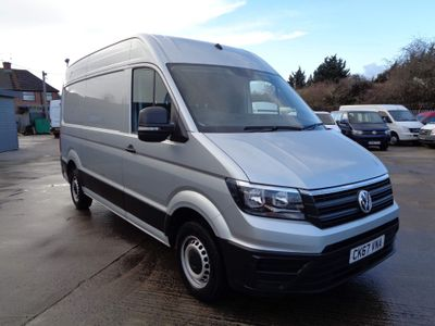 Volkswagen Crafter Panel Van 2.0 TDI CR30 BlueMotion Tech Startline FWD MWB High Roof EU6 (s/s) 5dr