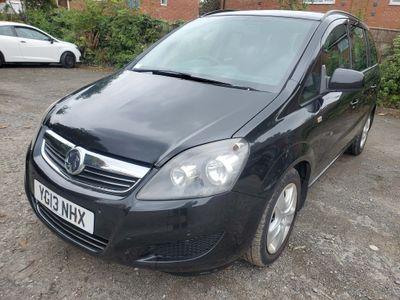 Vauxhall Zafira MPV 1.6 i VVT 16v Exclusiv 5dr