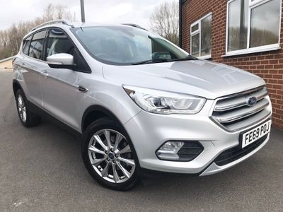 Ford Kuga SUV 2.0 TDCi EcoBlue Titanium Edition (s/s) 5dr