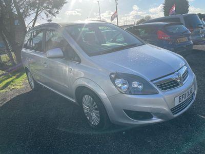 Vauxhall Zafira MPV 1.6 i Excite 5dr