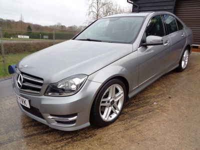 Mercedes-Benz C Class Saloon 2.1 C250 CDI AMG Sport Edition 7G-Tronic Plus 4dr
