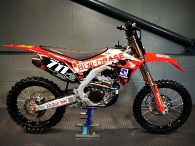 Honda CRF250R Moto Cross 250 Buildbase Replica