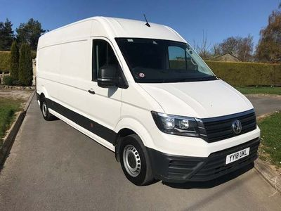 Volkswagen Crafter Panel Van 2.0 TDI CR35 BlueMotion Tech Startline FWD LWB High Roof EU6 (s/s) 5dr