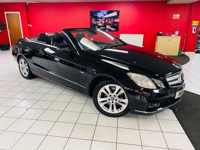Mercedes-Benz E Class Convertible 2.1 E250 CDI BlueEFFICIENCY SE Edition 125 Cabriolet 7G-Tronic Plus (s/s) 2dr