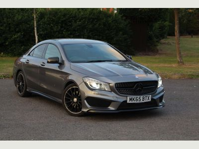 Mercedes-Benz CLA Class Coupe 2.1 CLA220 CDI AMG Sport 7G-DCT (s/s) 4dr