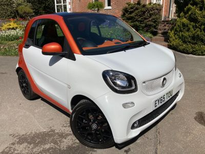 Smart fortwo Coupe 1.0 Edition 1 (s/s) 2dr