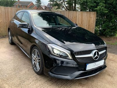 Mercedes-Benz A Class Hatchback 2.1 A220d AMG Line (Premium Plus) 7G-DCT (s/s) 5dr
