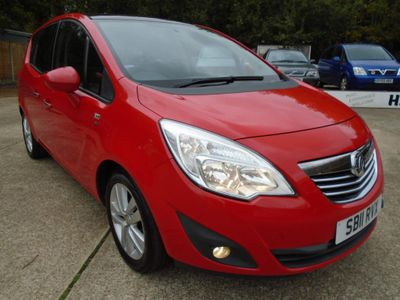 Vauxhall Meriva MPV 1.4 16V SE 5dr (a/c)
