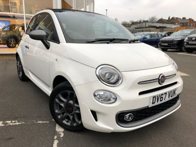 Fiat 500C Convertible 1.2 8V S (s/s) 2dr