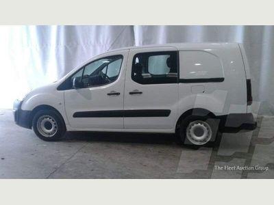 Peugeot Partner Combi Van 1.6HDi CREWVAN 5 SEATER LWB (EURO6)