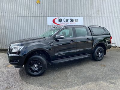 Ford Ranger Pickup 2.2 TDCi Black Edition Double Cab Pickup 4WD (s/s) 4dr