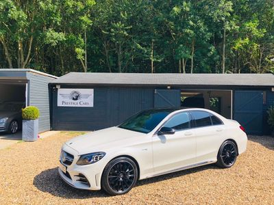 Mercedes-Benz C Class Saloon 3.0 C43 V6 AMG (Premium) G-Tronic+ 4MATIC (s/s) 4dr