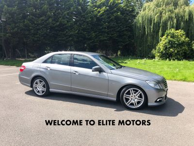 Mercedes-Benz E Class Saloon 3.5 E350 CGI BlueEFFICIENCY Sport G-Tronic 4dr