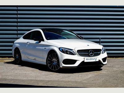 Mercedes-Benz C Class Coupe 3.0 C43 V6 AMG (Premium Plus) G-Tronic+ 4MATIC (s/s) 2dr