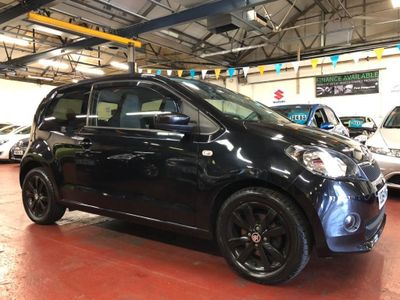 SKODA CITIGO Hatchback 1.0 MPI Black Edition 3dr
