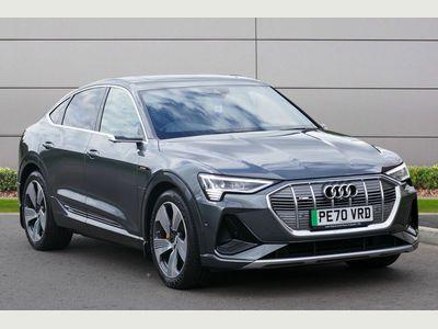 Audi e-tron SUV 55 S line Sportback Auto quattro 5dr 95kWh