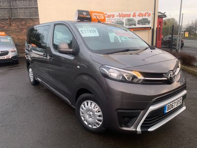 Toyota PROACE Verso Other 1.6D Shuttle Medium MPV MWB EU6 (s/s) 6dr (9 Seat)