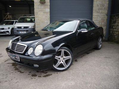 Mercedes-Benz CLK Convertible 2.3 CLK230 Kompressor Elegance Cabriolet 2dr