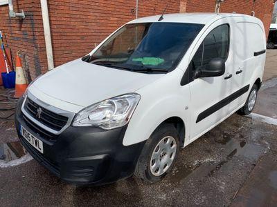 Peugeot Partner Pickup 1.6HDi 850 L1 PROFESSIONAL VAN