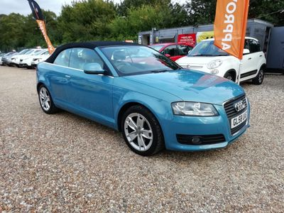 Audi A3 Cabriolet Convertible 1.8 TFSI Sport 2dr