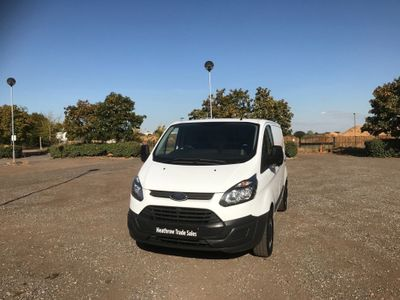 FORD TRANSIT CUSTOM Panel Van 2.2 TDCi ECOnetic 270 L1H1 Panel Van 5dr