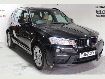 BMW X3 SUV 2.0 20d BluePerformance M Sport Auto xDrive 5dr