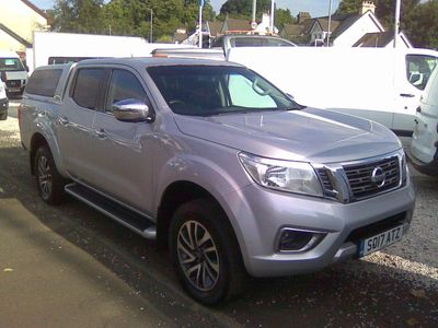 Nissan Navara Pickup 2.3 dCi N-Connecta Double Cab Pickup 4WD (s/s) 4dr
