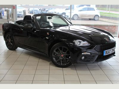 Abarth 124 Spider Convertible 1.4 MultiAir Scorpione Spider 2dr