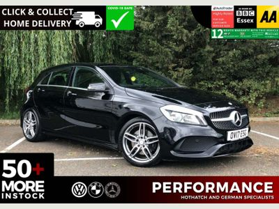 Mercedes-Benz A Class Hatchback 2.1 A220d AMG Line (Executive) 7G-DCT (s/s) 5dr