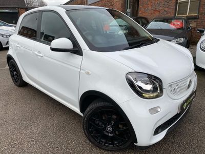 Smart forfour Hatchback 0.9T Edition White (s/s) 5dr