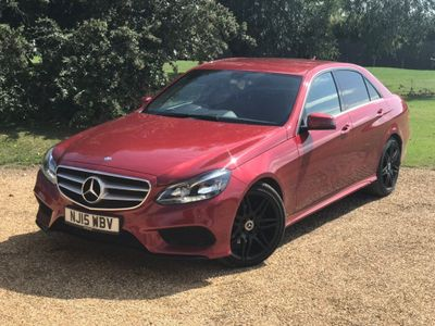 Mercedes-Benz E Class Saloon 2.1 E300 BlueTEC AMG Line 7G-Tronic Plus 4dr