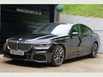 BMW 7 Series Saloon 3.0 730d MHT M Sport Auto xDrive (s/s) 4dr