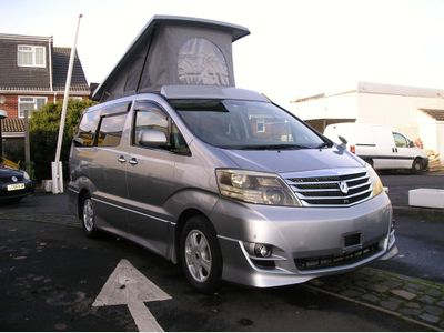 Toyota Alphard MPV with brand new leisure conversion
