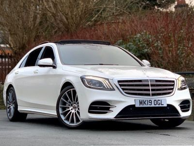 Mercedes-Benz S Class Saloon 3.0 S450L EQ Boost AMG Line (Premium) G-Tronic+ (s/s) 4dr