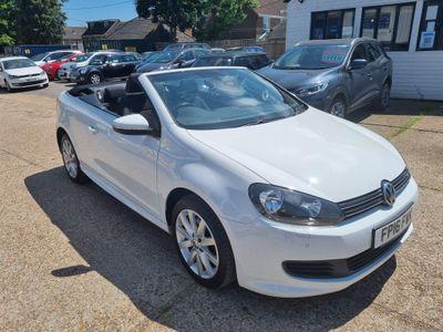 Volkswagen Golf Convertible 2.0 TDI BlueMotion Tech SE Cabriolet (s/s) 2dr