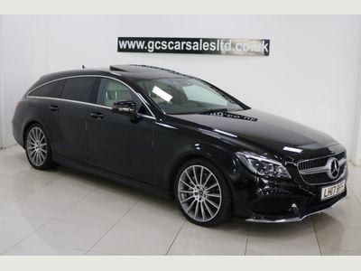 Mercedes-Benz CLS Estate 3.0 CLS350d V6 AMG Line (Premium) Shooting Brake G-Tronic+ (s/s) 5dr