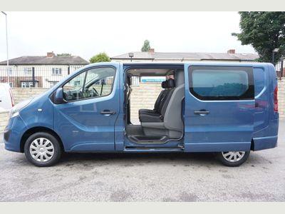 Vauxhall Vivaro Other 1.6 CDTi 2900 Sportive Crew Van L2 H1 EU5 5dr (6 Seat)