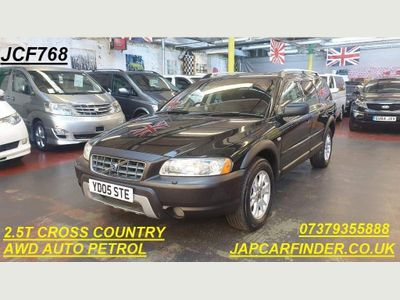 Volvo XC70 Estate 2.5T CROSS COUNTRY AWD SUNROOF LEATHER