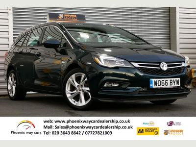 Vauxhall Astra Estate 1.4i Turbo SRi Sports Tourer Auto (s/s) 5dr