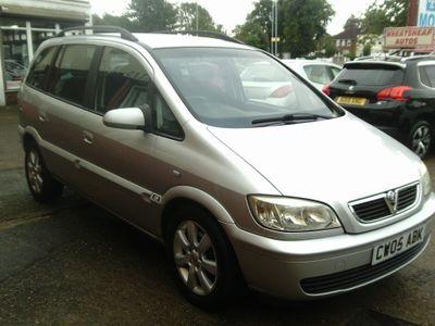 Vauxhall Zafira MPV 2.0 DTi 16v Breeze 5dr