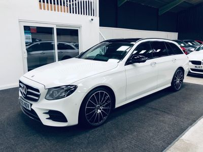 Mercedes-Benz E Class Estate 3.0 E350d AMG Line Night Edition (Premium Plus) G-Tronic+ (s/s) 5dr