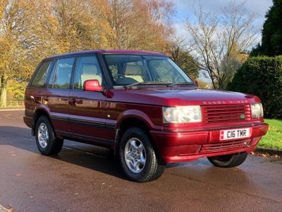 Land Rover Range Rover SUV 2.5 TD Bordeaux 5dr