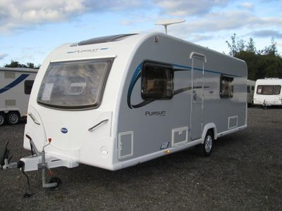 Bailey PURSUIT 530 Tourer 2014 4 BERTH FIXED BED