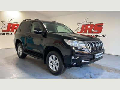 Toyota Land Cruiser Panel Van 2.8D Active Auto 4WD SWB EU6 3dr