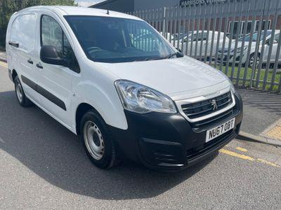 Peugeot Partner Combi Van 1.6 BlueHDi (Eu6) S L2 744 Crew Van 6dr