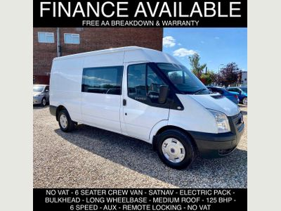 Ford Transit Other 2.2 TDCi 350 Medium Roof Double Cab-in-Van 3dr (EU5, LWB)