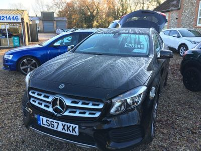 Mercedes-Benz GLA Class SUV 2.1 GLA200d AMG Line 7G-DCT (s/s) 5dr