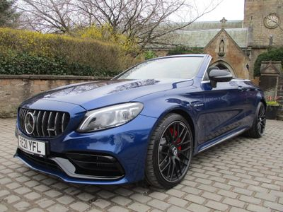 Mercedes-Benz C Class Convertible 4.0 C63 V8 BiTurbo AMG S Night Edition (Premium Plus) Cabriolet SpdS MCT (s/s) 2dr