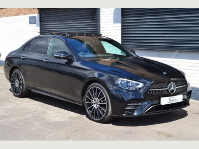 Mercedes-Benz E Class Saloon 3.0 E400d AMG Line Night Edition (Premium Plus) G-Tronic+ 4MATIC (s/s) 4dr