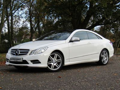 Mercedes-Benz E Class Coupe 1.8 E200 BlueEFFICIENCY Sport G-Tronic 2dr